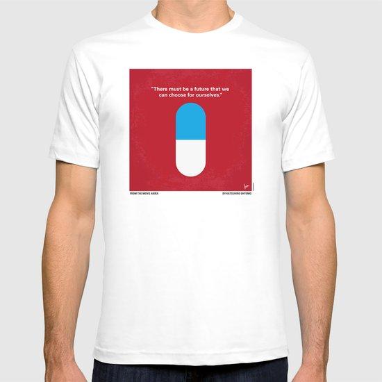 No144 My AKIRA minimal movie poster T-shirt