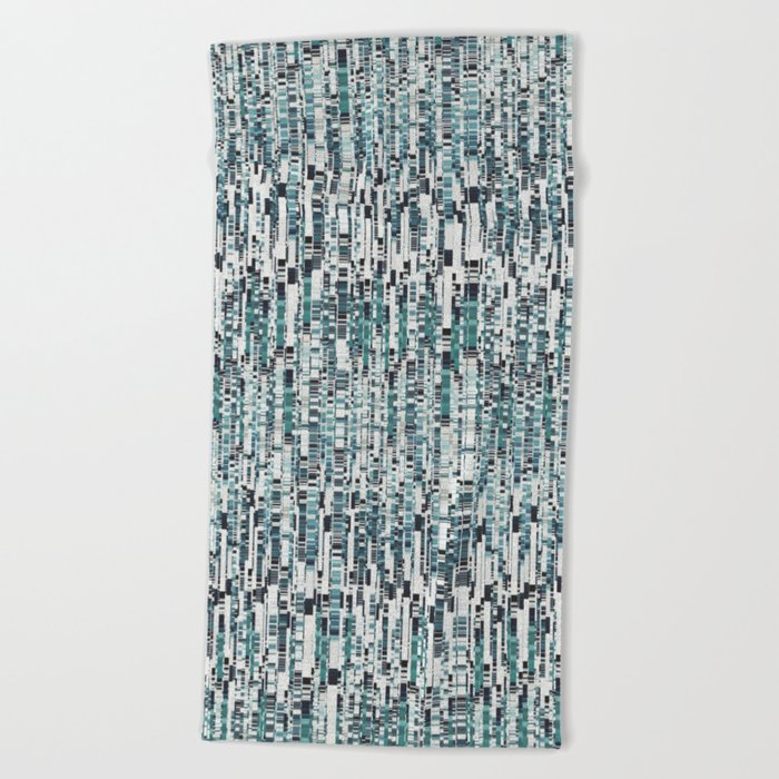 Abstract 158 Beach Towel
