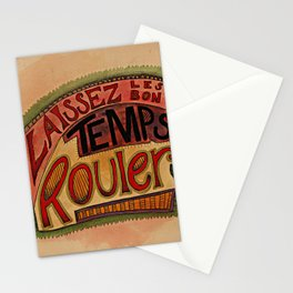 Laissez Les Bon Temps Rouler Stationery Cards