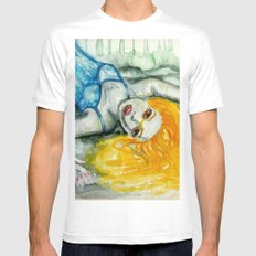beautiful creature SMALL White Mens Fitted Tee