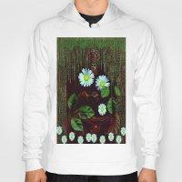 decorative Hoodies featuring Gargoyle decorative by Pepita Selles