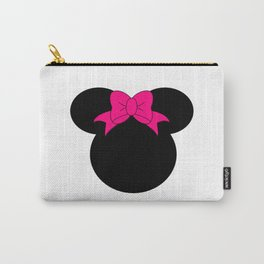 Minnie Mouse Head Carry-All Pouch