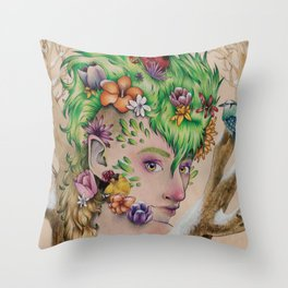 Wandering Season Throw Pillow