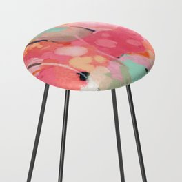 spring moon earth garden Counter Stool