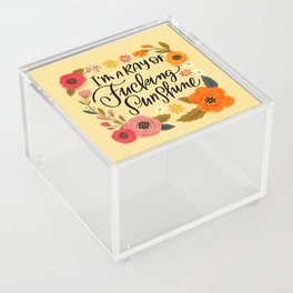Pretty Swe*ry: I'm a Ray of Fucking Sunshine Acrylic Box