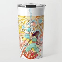 Strong in a real way Travel Mug