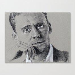 Tom Hiddleston: Festival de Cannes Canvas Print