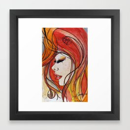 Velvet Waltz Framed Art Print