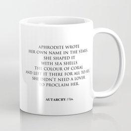 AUTARCHY (White Background) Coffee Mug