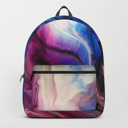 Sky Walker - Original Abstract Painting Backpack