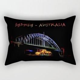 Electrified Sydney Rectangular Pillow