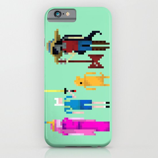 Adventure Time Gang iPhone & iPod Case