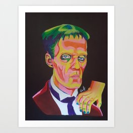 Lurch and Thing Art Print