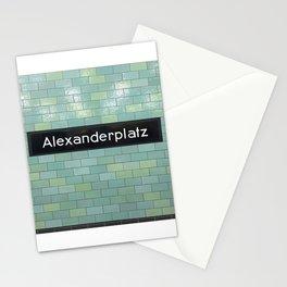 Berlin U-Bahn Memories - Alexanderplatz Stationery Cards