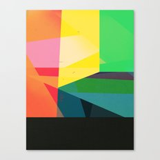 Colors with Black Canvas Print
