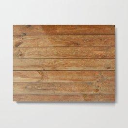 Wood texture timber tree felling Metal Print