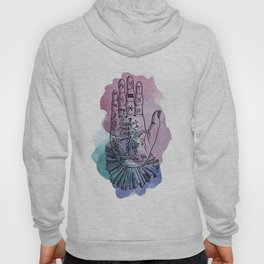 palmistry map Hoody