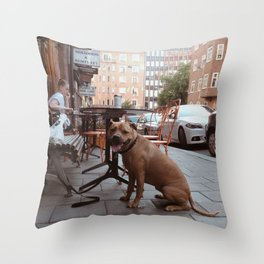 No. 11 Throw Pillow