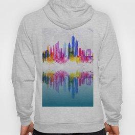 Color New York Skyline 02 Hoody