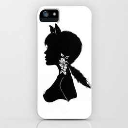 Foxy Silhouette iPhone Case