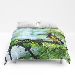 European Goldfinch Comforters