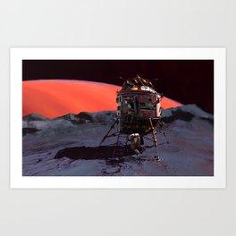 Phobos Lander Art Print