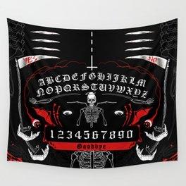 OUIJA Board Skull Wall Tapestry