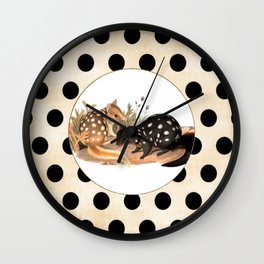 Spotted Quolls Wall Clock