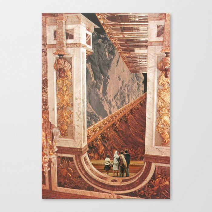 Inner Cities: Hall of the Mountain King Canvas Print