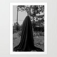 dark cloth 2 Art Print