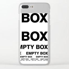 EMPTY BOX 20170828 Fibonacci Numbers Clear iPhone Case