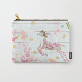 Hello Deer Carry-All Pouch