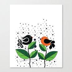 cute bird Canvas Print