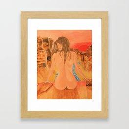 Woman of Grand Framed Art Print