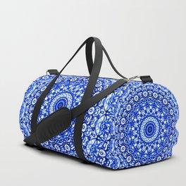 Blue Mandala Mehndi Style G403 Duffle Bag
