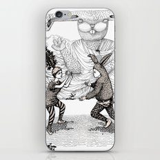 The Great Fight iPhone & iPod Skin