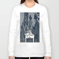 poker Long Sleeve T-shirts featuring Poker Game by Kasey Jane