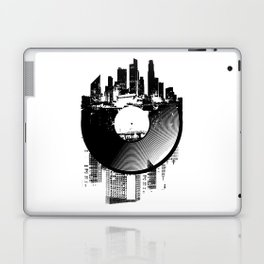 Urban Vinyl of Underground Music Laptop & iPad Skin