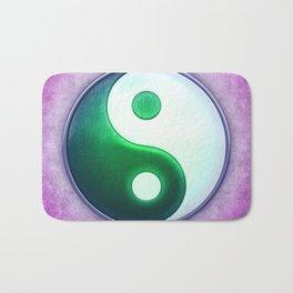 Yin Yang - Labradorite Light Green Bath Mat