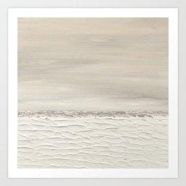 Gray Seas 4 Art Print