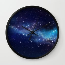 Floating Stars - #Space - #Universe - #OuterSpace - #Galactic Wall Clock