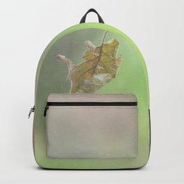 Flying autumnal leaf Backpack
