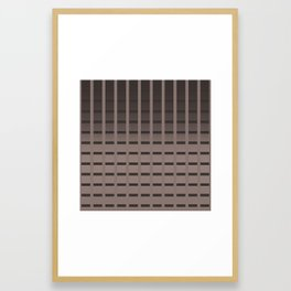 Blushck Framed Art Print