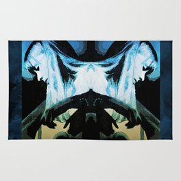 Joni Mitchell Watercolor Rug