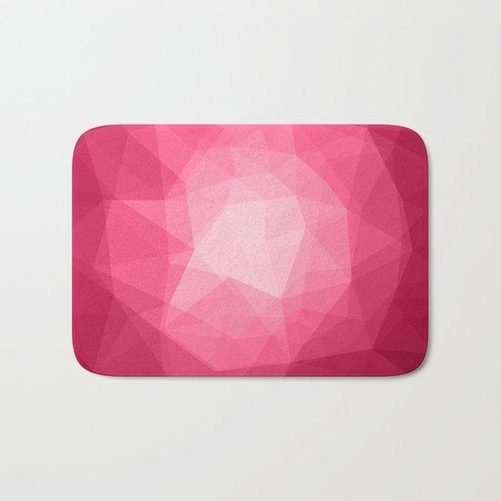 Geometric Polygonal Pattern 02 Bath Mat