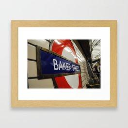 Baker Street Station Framed Art Print