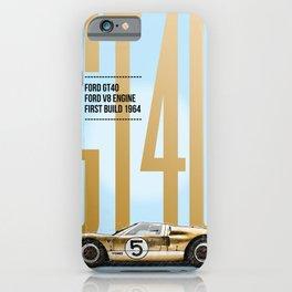 GT40 Tribute iPhone Case