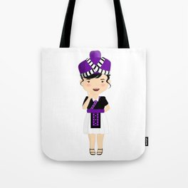Hmong Cartoon Tote Bag