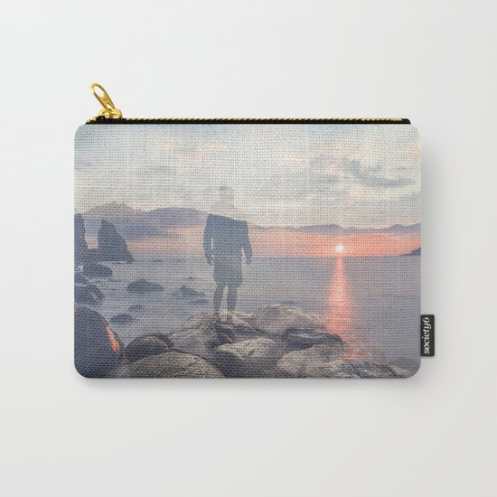 Mirrored Thoughts Carry-All Pouch