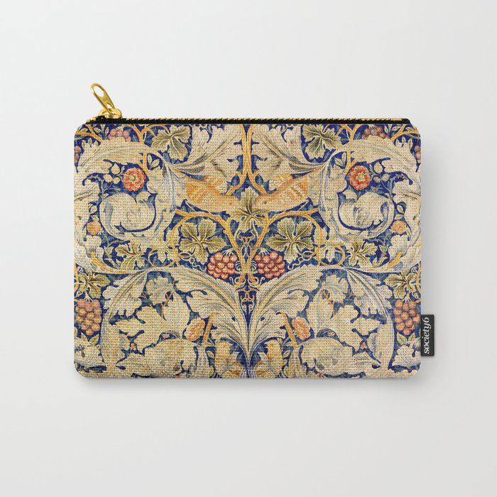 """William Morris """"Acanthus and vine"""" 1. Carry-All Pouch"""
